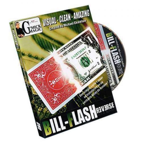 Bill Flash Reverse by Mickael Chatelain (DVD &...