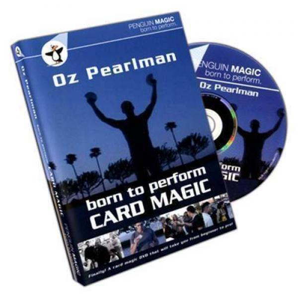 Born to Perform Card Magic with Oz Pearlman - DVD