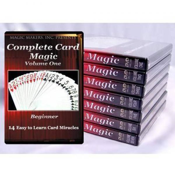 Complete Card Magic with Gerry Griffin - The Definitive Set (Volumes 1-7) (7 DVDs)