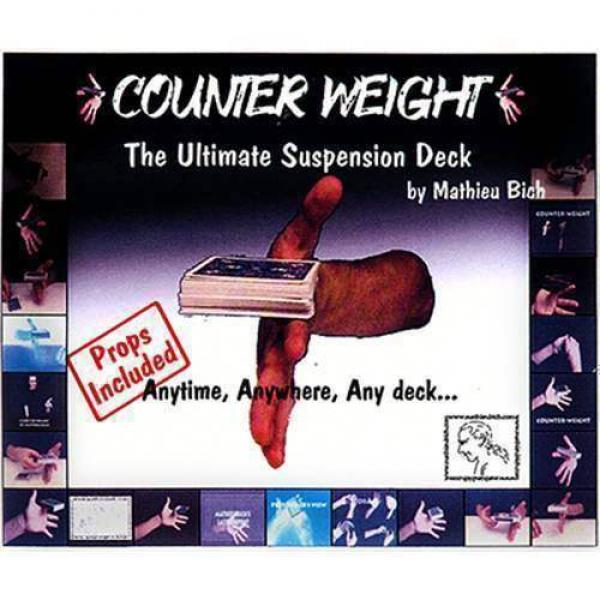 Counter Weight by Mathieu Bich - Gimmick and CD Rom