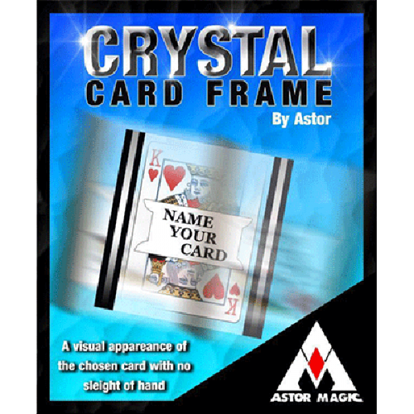Crystal Card Frame by Astor