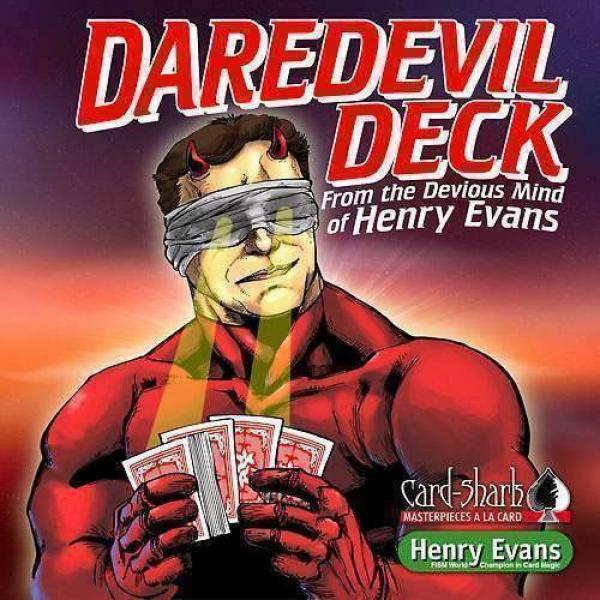 Daredevil Deck - by Henry Evans (DVD & Gimmick...