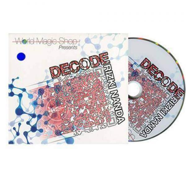 Decode Blue by Rizki Nanda and World Magic Shop - DVD and Gimmick