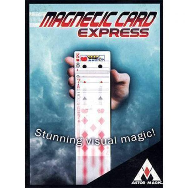 Magnetic Card Express (Blue) by Astor Magic