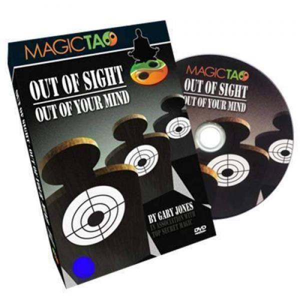 Out of Sight Out Of Your Mind (DVD and Gimmick)by Gary Jones and Magic Tao