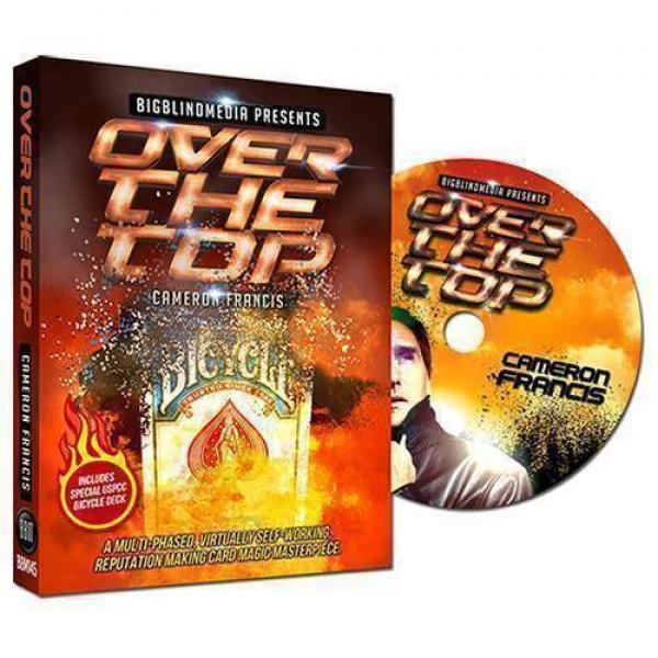Over the Top  by Cameron Francis - DVD e Gimmick