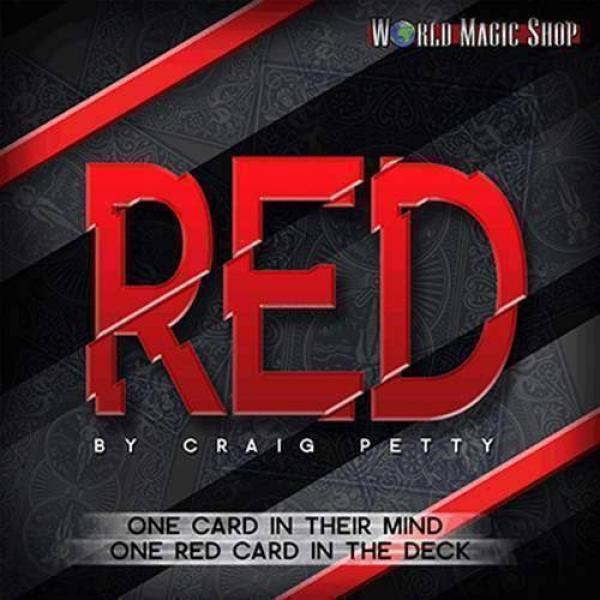 Red by Craig Petty (DVD & Gimmick)