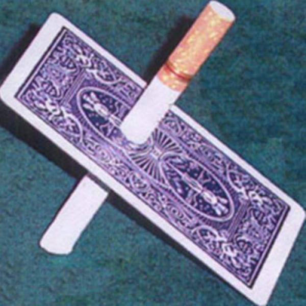 Cigarette thru Card - Double Back