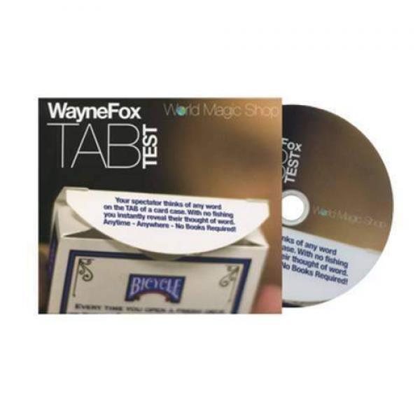Tab (DVD and Gimmicks) by Wayne Fox