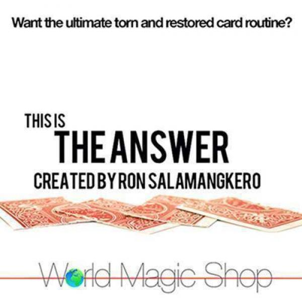 The Answer by Ron Salamangkero (DVD)