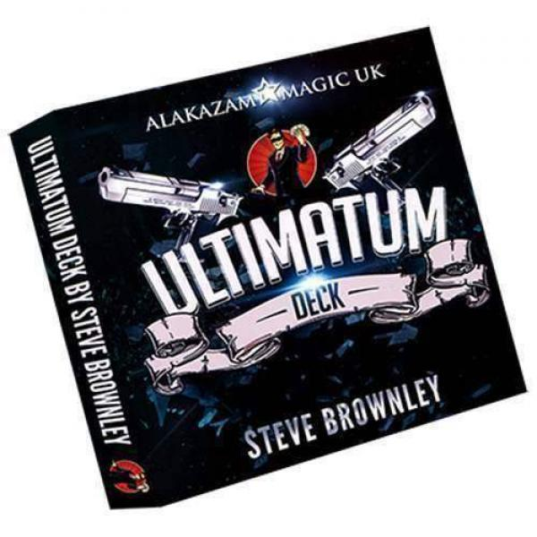 Ultimatum Deck (Red) by Steve Brownley and Alakazam Magic