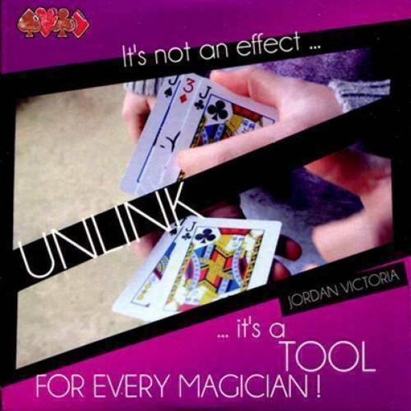 Unlink by Jordan Victoria (DVD & Gimmick)