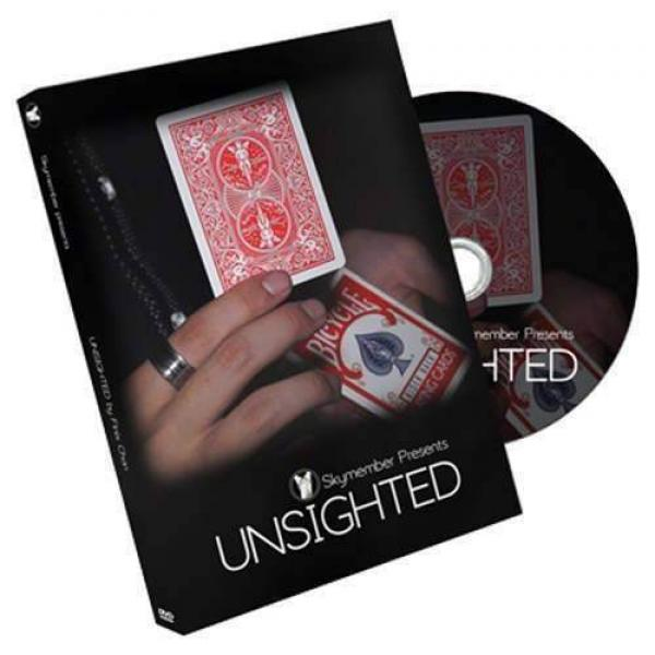 Unsighted (Red by Finix Chan and Skymember (DVD and Gimmick)