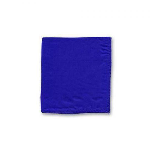 Foulard di seta cm 15 x 15 Blu