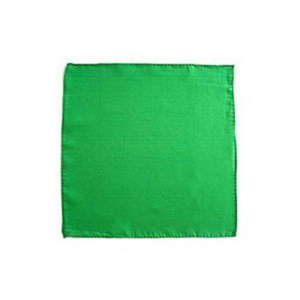 Foulard di seta cm 30 x 30 Verde