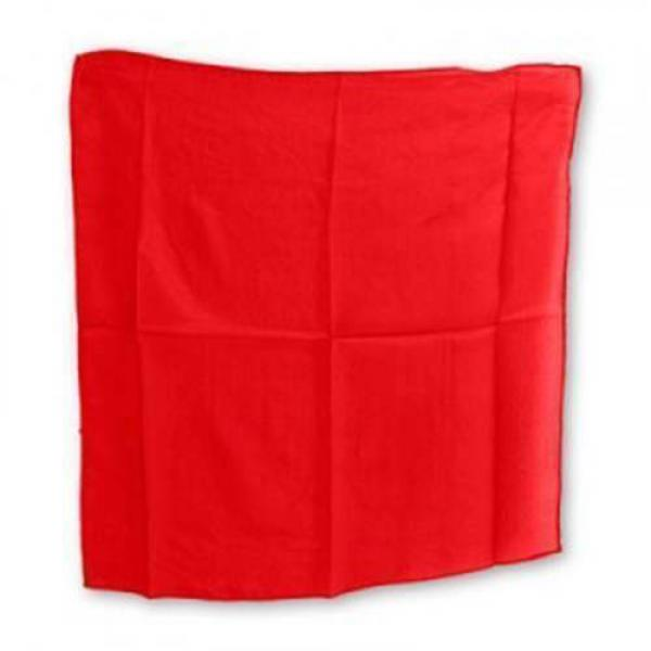 Silk squares - 45 cm (18 inches) - Red