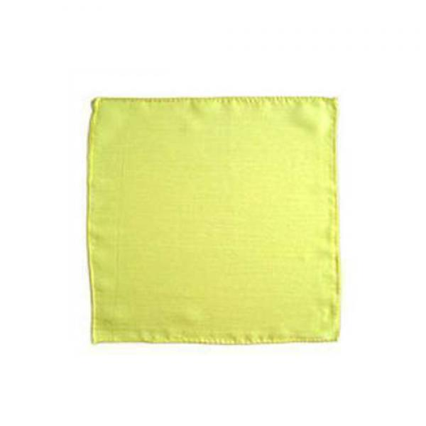 Silk squares - 20 cm (9 inches) - Lemon Yellow