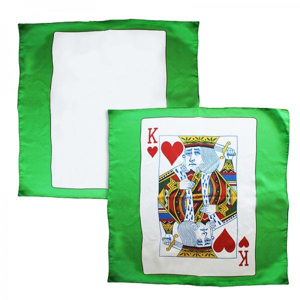 """Sitta Card Silk - Green - 60 cm (24"""") - Set o..."""