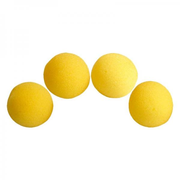 1.5 inch HD Ultra Soft Yellow Sponge Ball Set from...