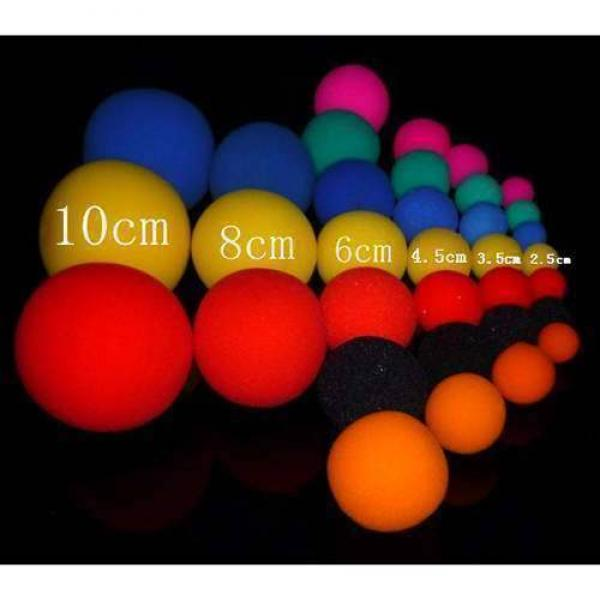 Super soft sponge ball orange - Single 2.5 cm