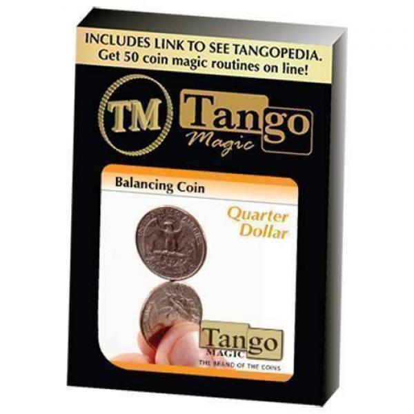 Balancing Coin (Quarter Dollar) by Tango Magic