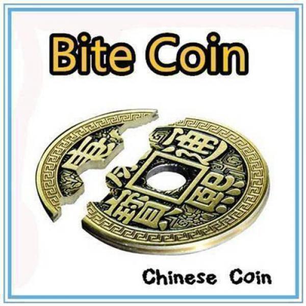 Bite Coin - (Moneta Cinese Half Dollar Size)