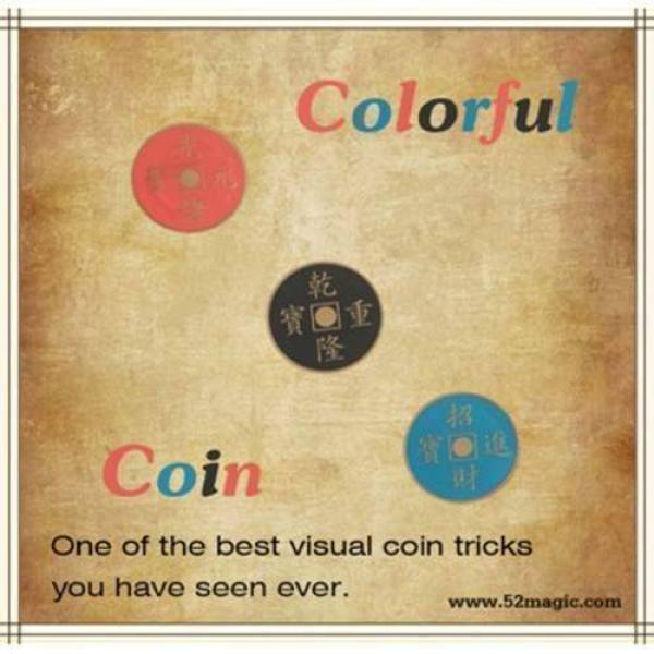 Colorful Coin - Half dollar Edition
