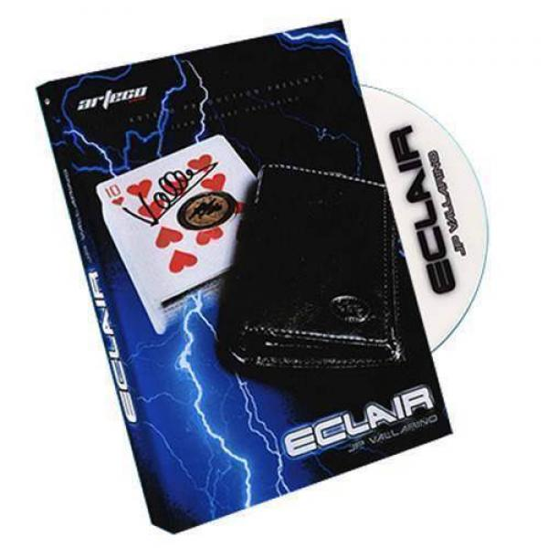 Eclair (Euro Gimmick and DVD) by Jean-Pierre Vallarino - without wallet