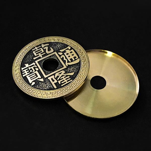 Expanded Shell Super Chinese Coin (Qianlong, Morga...