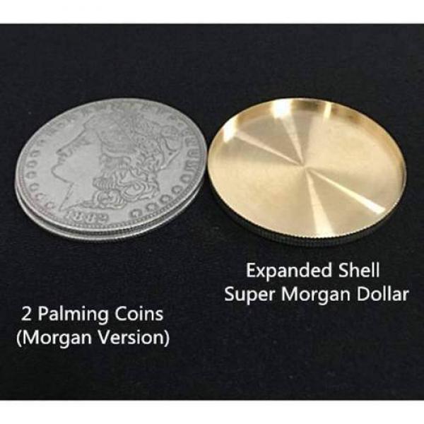 Expanded Shell Super Morgan Dollar  - rame - Conchiglia Espansa