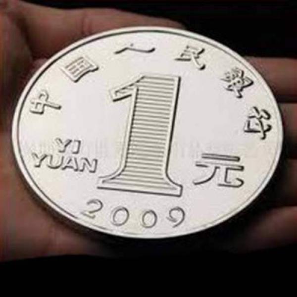Jumbo Chinese Coin  - 7.5 cm