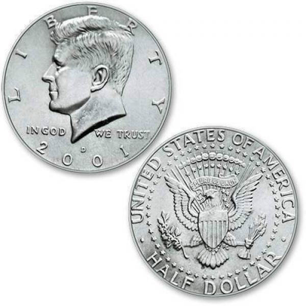 Half Dollar regular - single piece