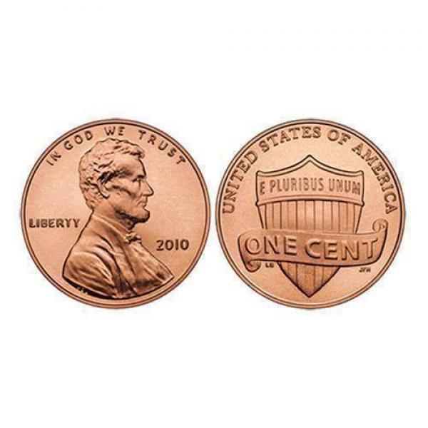 U.S. Penny ungimmicked - singolo pezzo