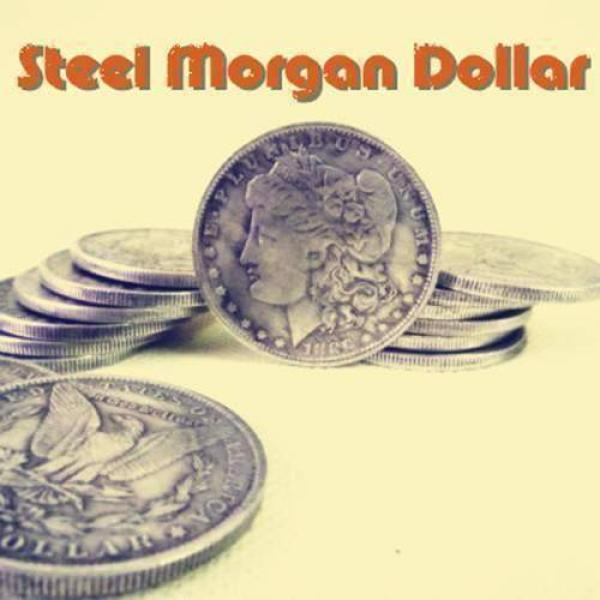 Steel Morgan Dollar (3.8cm)