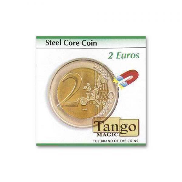 Steel core coin  by Tango Magic - 2 Euro