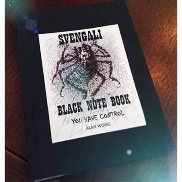 Blank Svengali Notebook (Small) by Alan Wong