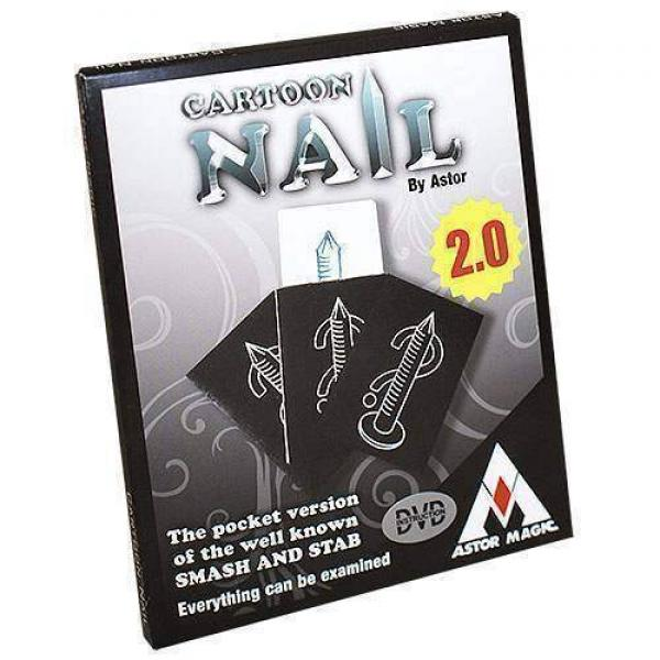 Cartoon nail 2.0 by Astor