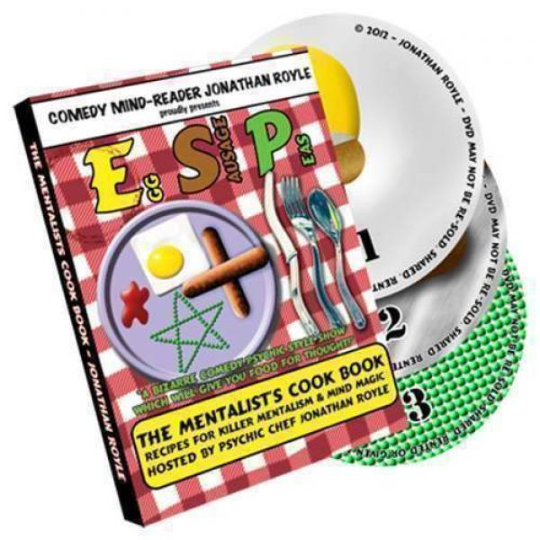 E.S.P. (Eggs, Sausage & Peas) by Jonathan Royale - 3 DVD set