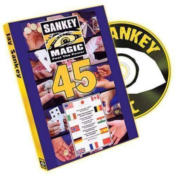 45 by Jay Sankey - DVD