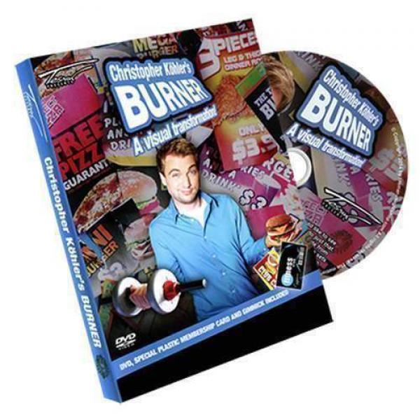 Burner by Christopher Köhlers Burner - DVD and Gimmick