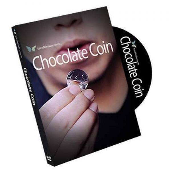 Chocolate Coin by SansMinds - original item