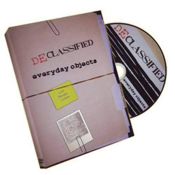 Declassified Volume 1 (Magic With Everyday Objects) - DVD