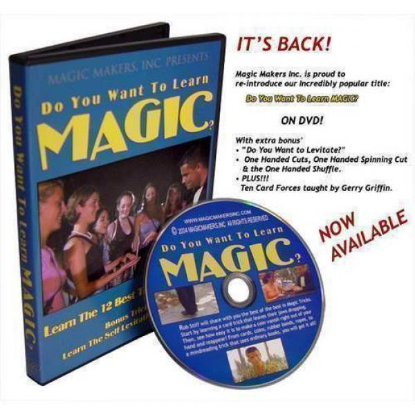 Do You Want To Learn Magic? Featuring Rob Stiff (D...