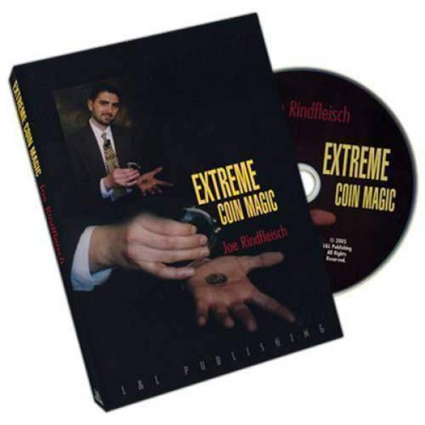 Extreme Coin Magic by Joe Rindfleisch - DVD