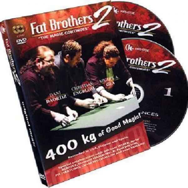Fat Brothers 2.0 by Miguel Angel Gea, Christian Engblom, and Danny DaOrtiz - 2 DVD set