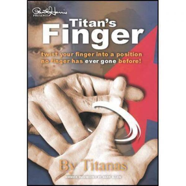 Finger by Titanas (DVD + Gimmick)