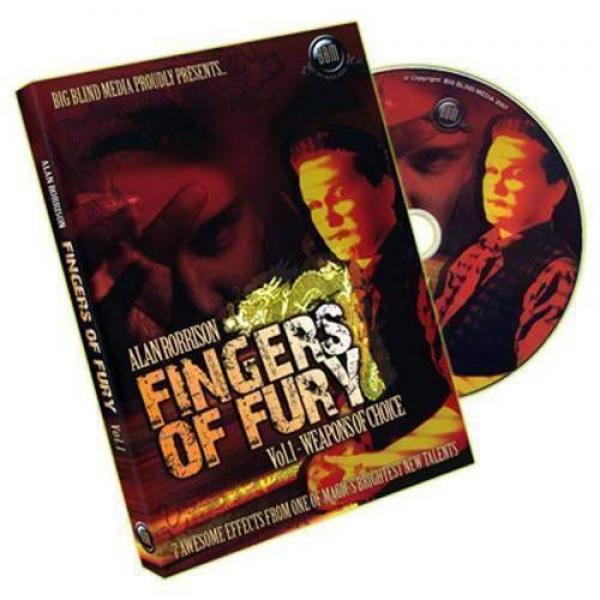 Fingers of Fury Vol.1 (Weapons Of Choice) by Alan Rorrison - DVD