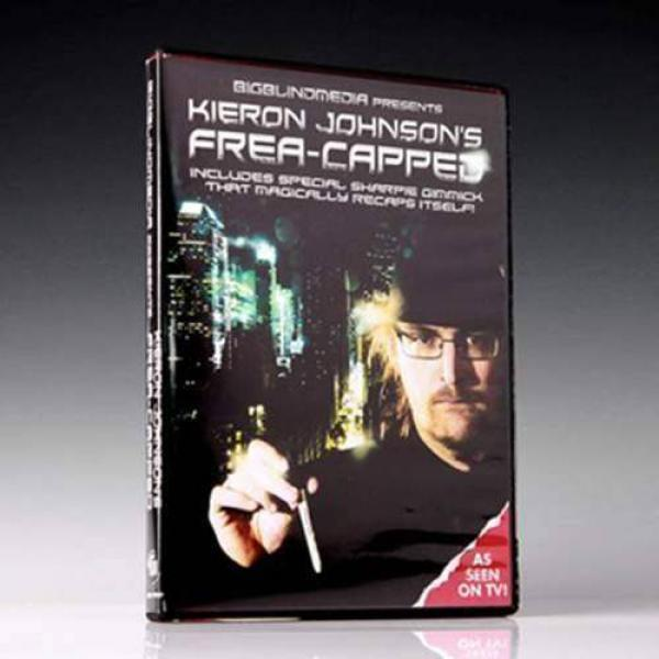 Frea-capped by Kieron Johnson and Big Blind Media - DVD and Gimmicks