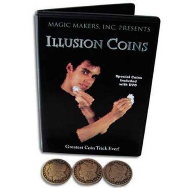 Illusion Coins by Steve Tippeconnic