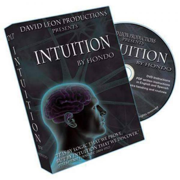 Intuition (With Cards and DVD) by Hondo